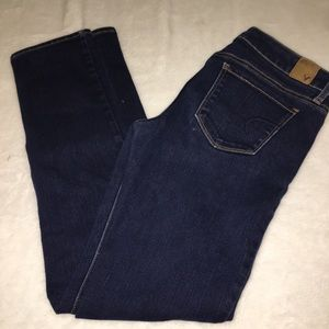American Eagle Stretch Skinny Ankle Jeans Size 8